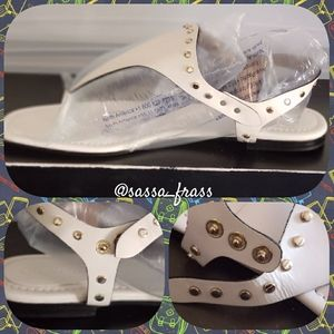 Leather Sandals, Size 12M NWOT
